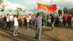Los piquetes de trabajadores aceiteros vuelven a complicar la comercialización agrícola: pero ahora la responsabilidad del conflicto es 100% del gobierno kirchnerista