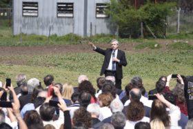 """Alberto Fernández: """"El presidente de Syngenta está dispuesto a donar el 1% de su producción en esta campaña"""""""