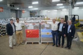 """Salió desde Concordia la primera muestra de arándanos argentinos con destino a China: """"Esperamos que estén conformes para que se produzcan nuevos pedidos"""""""