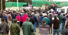 Transportistas de Atcade amenazan con paralizar la provincia de Buenos Aires: el acopio La Bragadense lleva más de un mes sitiado