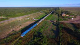 El Belgrano Cargas transportó un récord de 3268 vagones con granos hacia las terminales portuarias rosarinas