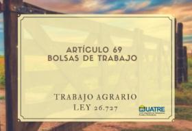 Bolsas de trabajo de Uatre: el jornal mínimo en Santa Fe es 12% superior al vigente en Buenos Aires