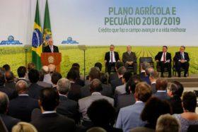 En el ciclo 2018/19 el gobierno brasileño destinará más de 50.000 millones de dólares para financiar al agro: bajaron la tasa para capital de trabajo al 7,0% anual