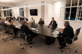 Alberto Fernández recibió a los representantes del Consejo Agroindustrial Argentino