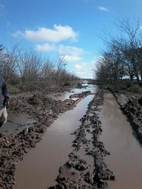Alerta caminos rurales: el fin de semana se llueve todo en muchas regiones productivas del centro y norte del país