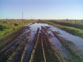 Alerta caminos rurales: la mayor parte de la semana se proyectan lluvias sobre las principales regiones productivas