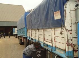 Transportistas de granos alertan que planean organizar un paro nacional si el gobierno no accede a actualizar las tarifas orientativas