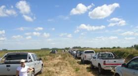 El campo sigue siendo el mejor cliente de la industria automotriz: en lo que va del año las ventas de camionetas apenas cayeron un 11%