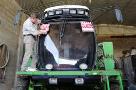 Córdoba: propietario de pulverizadora no registrada podría llegar a pagar más de un millón de pesos de multa