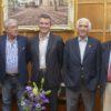 Gracias totales: Etchevehere recibió a los cuatro integrantes de la Comisión de Enlace Agropecuaria de 2008