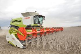 En el primer trimestre del año ingresaron 173 cosechadoras importadas a un valor promedio de 179.000 dólares