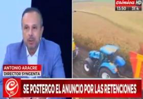 """CEO de Syngenta Argentina: """"Las retenciones son un mal impuesto pero si no cerramos las cuentas fiscales el país no puede salir del pozo"""""""