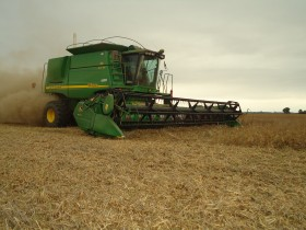 En lo que va del año las importaciones de cosechadoras cayeron más de un 60%: la alemana Claas dejó de traer equipos