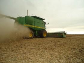 John Deere lidera el ranking de importación de cosechadoras en lo que va del año