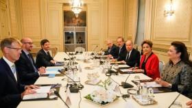 """Dilma: """"El Mercosur (sin Argentina) está en condiciones de presentar sus ofertas comerciales a la Unión Europea"""""""