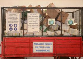 ¿Cuáles son las provincias más avanzadas en la implementación del sistema de gestión de envases vacíos de fitosanitarios?
