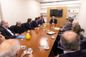 """Representantes de la cadena agroindustrial fueron convocados por Alberto Fernández para integrar el """"Consejo Federal Argentina contra el Hambre"""" en caso de resultar electo"""