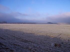 Mañana se prevé la formación de heladas moderadas sobre la región pampeana