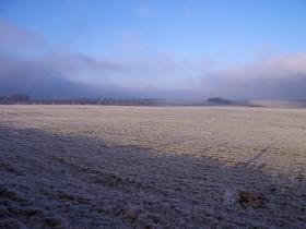 Mañana se esperan bajas temperaturas sobre el sur de la región pampeana