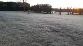 Mañana regresa el frío al sur de la región pampeana: probabilidad de heladas para el miércoles