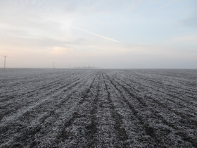 El miércoles ingresa una masa de aire frío de origen polar