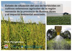 Investigadores del INTA realizaron el primer relevamiento sobre el estado de situación del uso de herbicidas en la zona núcleo pampeana