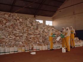 En Brasil las compañías elaboradoras de agroquímicos son las encargadas de procesar los envases vacíos: el programa cumplió diez años