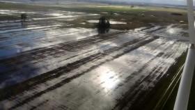 El domingo se prevé que regresen las lluvias sobre las zonas productivas inundadas