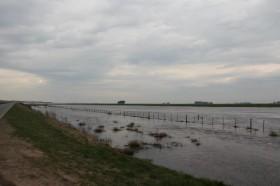 Esta semana se esperan lluvias intensas sobre las regiones inundadas