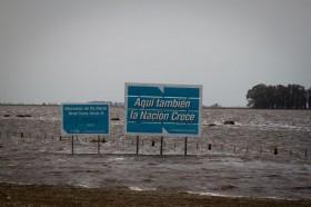 Inundaciones: gracias a Tinelli ya son nueve los departamentos bonaerenses declarados en emergencia agropecuaria