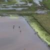 De las inundaciones no se habla: Macri y Michetti expresaron mensajes de solidaridad destinados a México y Cuba