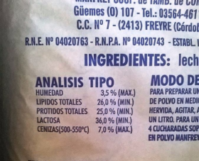 Sigue limitado el potencial de crecimiento de las exportaciones argentinas de leche en polvo por el cupo discriminatorio aplicado por Brasil