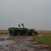 Siguen las perspectivas de lluvias: en algunos sectores de la zona pampeana habrá tormentas intensas que podrían complicar la cosecha gruesa
