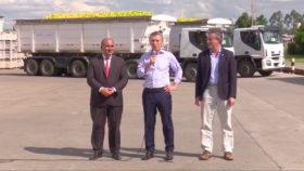 """Macri participó del acto realizado para festejar el primer embarque de limones destinado a EE.UU: """"Queremos llevar nuestros productos a las góndolas de todo el mundo"""""""