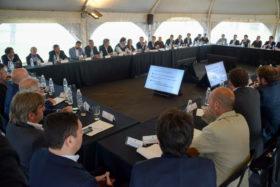 Macri y Vidal se reunieron con representantes de la cadena de valor agrícola para repasar las políticas implementadas para el sector