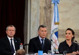 """Macri: """"Los argentinos que trabajan en el campo tienen potencial para ganar lugar en los supermercados del mundo"""""""