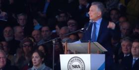 """Macri aseguró que """"se tienen que terminar las retenciones"""" porque """"es un impuesto que destruye oportunidades"""""""