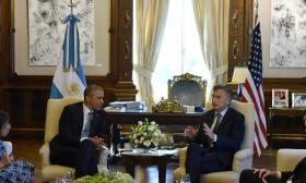 Macri aprovechó la visita de Obama para comenzar a gestionar la integración comercial entre EE.UU. y el Mercosur