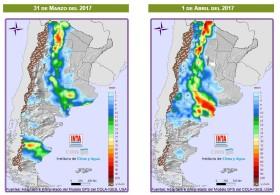 Se complica la cosecha gruesa: hasta el domingo seguirán presentándose lluvias intensas en el sector oeste del país