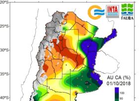 Alerta climática: siguen sin presentarse perspectivas de lluvias importantes en el centro de Córdoba y Santa Fe