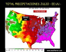 Maíz estadounidense con daño irreversible: habrá lluvias inferiores a las normales en plena etapa de floración del cultivo