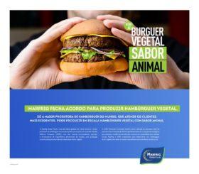 """Marfrig y ADM se unen para comenzar a fabricar en Brasil la primera hamburguesa sudamericana """"100% vegetal con sabor y textura similares a los de la carne"""""""