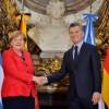 Merkel ratificó el deseo de Alemania de lograr un Tratado de Libre Comercio entre Europa y el Mercosur: la carne es el principal obstáculo