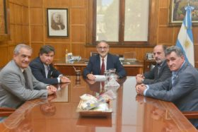 Basterra se reunió con la Comisión de Enlace: logró desactivar anuncios de medidas de fuerza