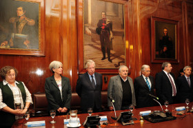 """Mujica nombró nuevas autoridades en el Banco República: """"Quisimos dar una fuerte señal al sector agropecuario"""""""