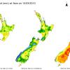 Sequía histórica en Nueva Zelanda: buena parte de los dólares que busca el gobierno están en el mercado de lácteos