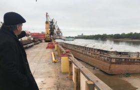 Sobrecosto logístico: por la bajante histórica del río Paraná los buques no pueden completar las cargas programadas en las terminales santafesinas