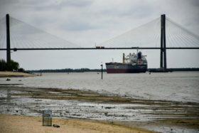 La bajante histórica del río Paraná distorsionó el sistema de formación de precios de la soja argentina