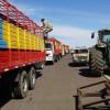 Cuarto día del paro agropecuario con cumplimiento parcial: ingresaron casi 1300 camiones a la terminales santafesinas