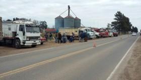 Estado Ausente: bloqueo transportista paralizó la cadena de pagos del sector agroindustrial